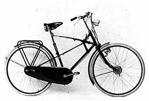 "Simplex ""gliding bicycle"""