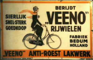 Veeno advertising sign